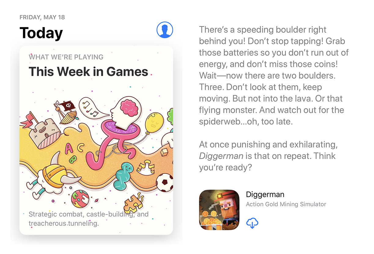 Diggerman App Store today USA