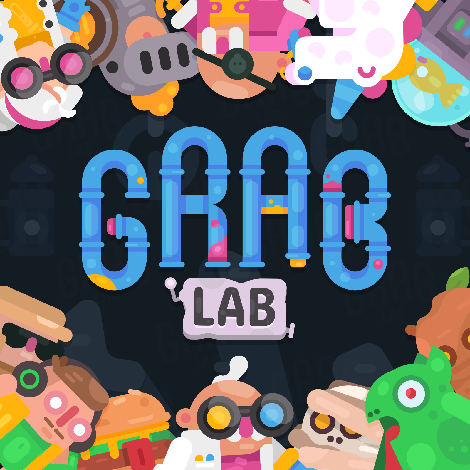 Proud to present 'Grab Lab'!  A crazy mix of puzzle and arcade game!