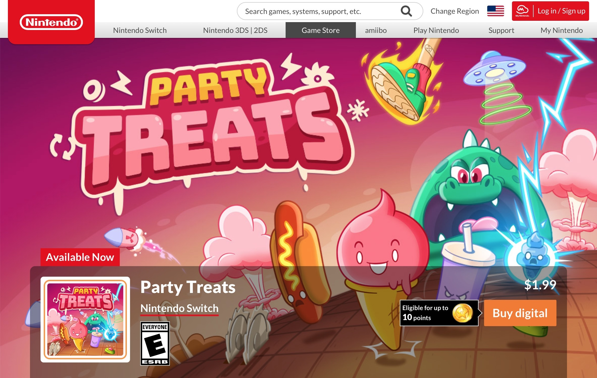Party Treats is available now on Nintendo Switch!